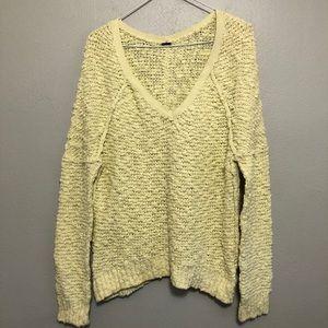 Free People Bobble Knit Sweater